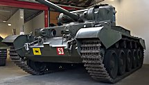 Preserved Comet Tank at the Deutsches Panzermuseum Munster Germany
