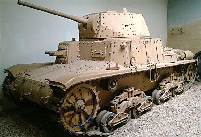 Surviving Carro Armato M15/42 Italian Medium Tank