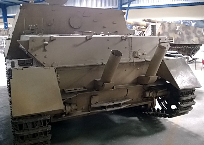 SurvivingGerman WW2 Jagdpanzer IV/70 (A) Tank Destroyer