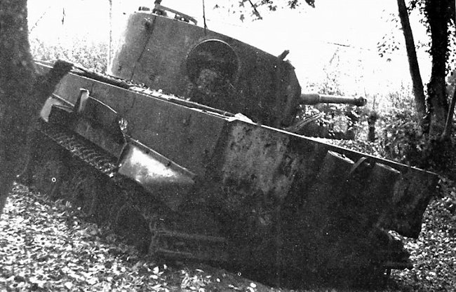 The Vimoutiers Tiger tank