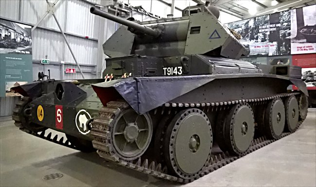 Surviving British A13 Mk.II Cruiser Mark IV