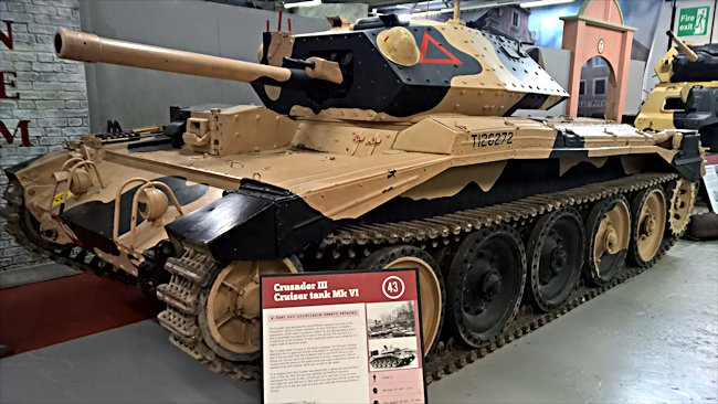 Surviving A15 British Crusader MkIII tank