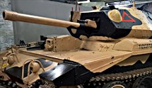 Surviving Tank Cruiser Mk VI A15 Crusader MkIII