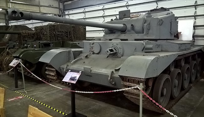 British A34 Comet Tank did not saw action in the WW2 Battle of the Bulge