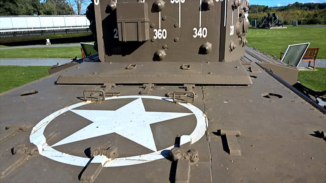 All Allied tanks used on D-Day had this star 