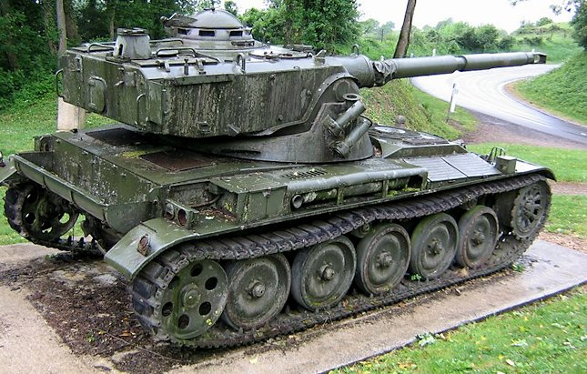 1960's French Cold War 90mm AMX-13 tank