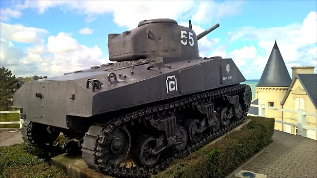 Surviving M4A2 Sherman Tank used in Normandy during D-Day