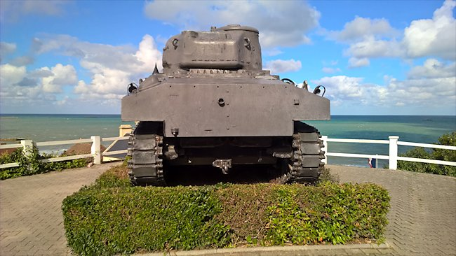 Preserved M4A2 Sherman Tank used in Normandy during D-Day