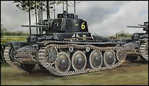 1:35 Scale Military Panzer 38(t) Tank Model Kits
