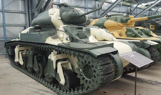 Surviving Sentinel AC1 Cruiser Mk.1 Australian WW2 Tank in the AAAM museum