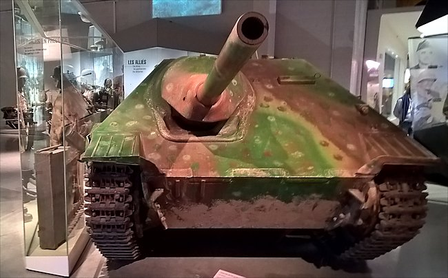 Restored jagdpanzer 38(t) Hetzer tank destroyer