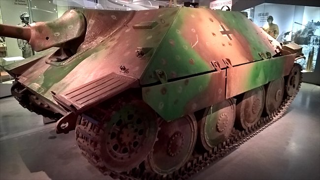 surviving jagdpanzer 38(t) Hetzer tank destroyer Bastogne