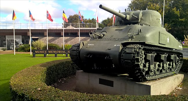 Surviving M4A1(75) Sherman Tank used in Normandy during D-Day