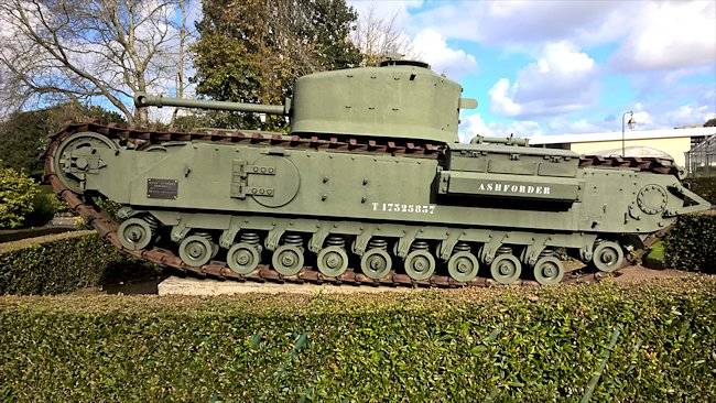 Churchill Mk VII Flamethrower Tank
