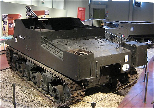 Sexton Self-propelled Artillery Gun