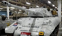 Surviving WW2 British M10 Achilles 17pdr Tank Destroyer at the Tank Museum, Bovington