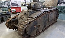 Surviving Char B1 Renault French WW2 Heavy Tank