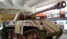Surviving German WW2 Panther at the Bovington Tank Museum