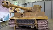 Surviving German WW2 Tiger I Heavy Tank at Bovington Tank Museum