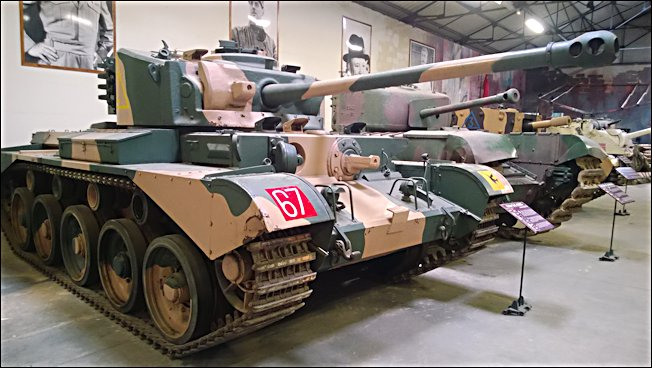 Surviving WW2 A34 British Comet Tank at the French Tank 