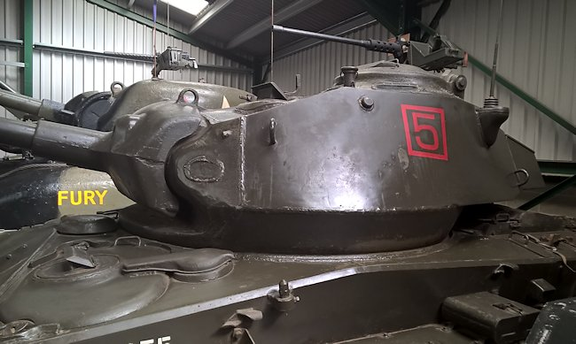 Restored M24 Chaffee Light Tank at the Muckleburgh Military Collection Museum