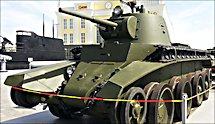 Surviving BT7M Russian Soviet WW2 light Tank