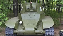 Surviving BT7 Model 1937 Russian Soviet WW2 light Tank