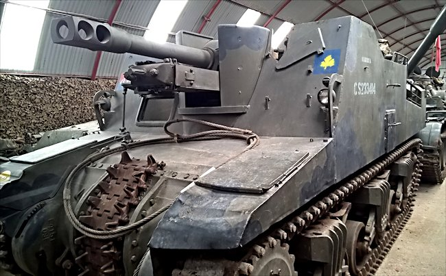 Preserved Canadian WW2 Sexton II Self Propelled Gun SPG