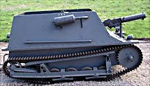 Surviving Swedish Carden Loyd MkV tankette