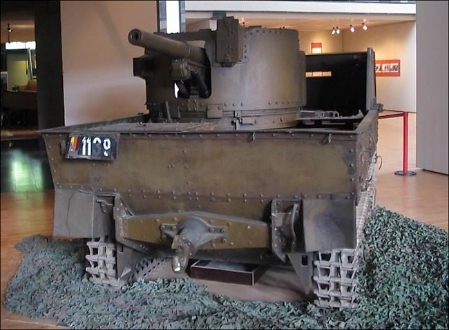 Surviving Belgium Army 1940 Carden Loyd T13 B2 Tank