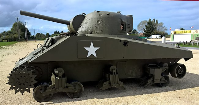 Surviving M4A4 Sherman Tank Wreck