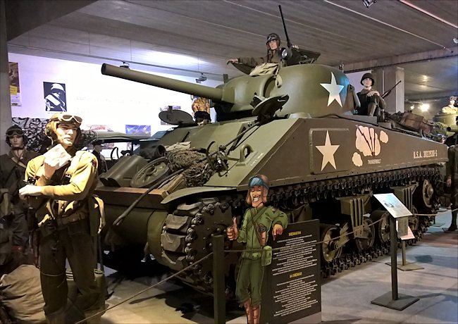 Surviving M4A2 Sherman Tank used in Normandy