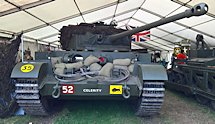 The Dutch engineering company BAIV BV have restored this Comet Tank
