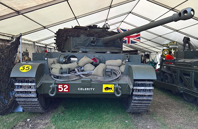 The Dutch engineering company BAIV B.V. has fully restored a British Comet tank number T335252