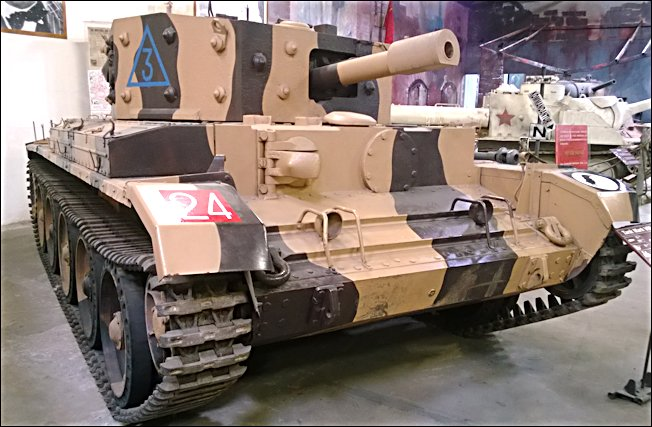 Surviving British Centaur Mark III Tank