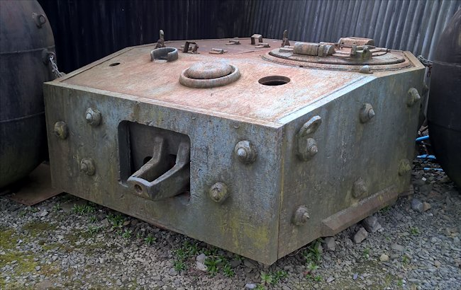 Surviving British Centaur Mark IV Tank turret