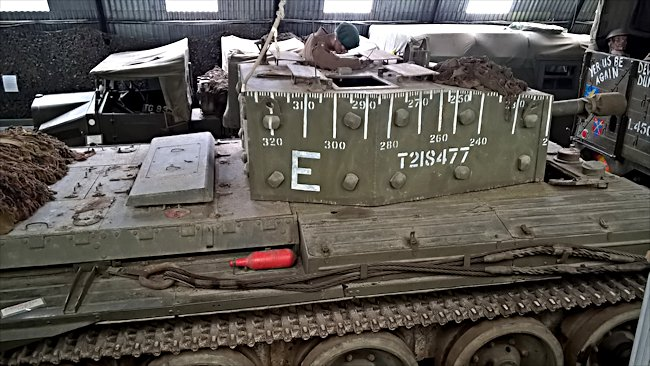 Surviving British Centaur Mark IV Tank