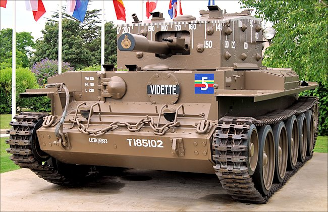 Surviving Centaur Mk IV close 
