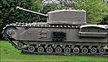 Surviving Churchill Crocodile Flame Thrower Tank Muckleburgh Military Collection Norfolk