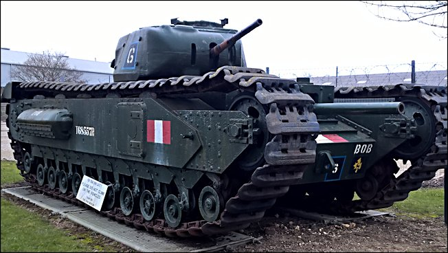 British Churchill MkII A22 Infantry Tank