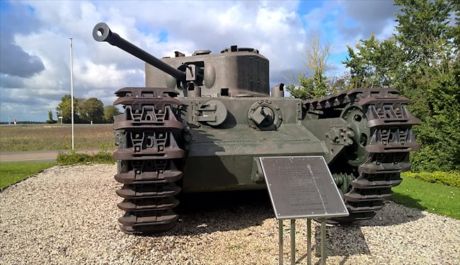 Surviving Churchill Mk VII Tank used in Normandy during D-Day