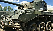 Surviving WW2 A34 British Comet Tank