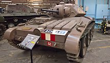 Surviving Covenanter A13 Mk.III Cruiser MkV Tank