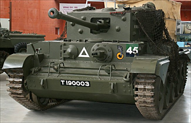 Surviving Cromwell Tank Cruiser MkVIII used in Normandy 1944