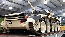 Surviving Tank Cruiser Mk VI A15 Crusader MkI