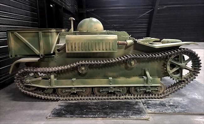 Preserved Renault UE Chenillette Tankette used during D-Day