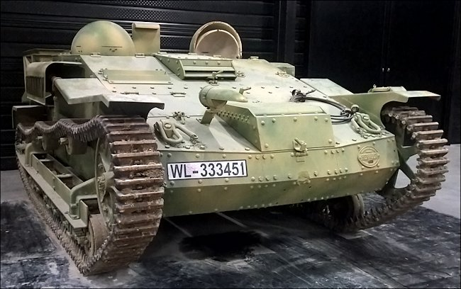 Surviving Renault UE Chenillette Tankette used during D-Day
