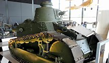 Surviving WW1 Dutch Army French built Renault FT17 Tank
