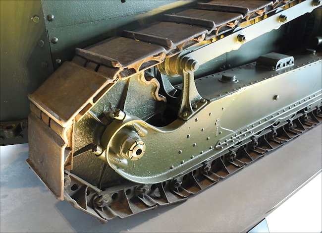 Surviving French built WW1 Renault FT-17 Tank