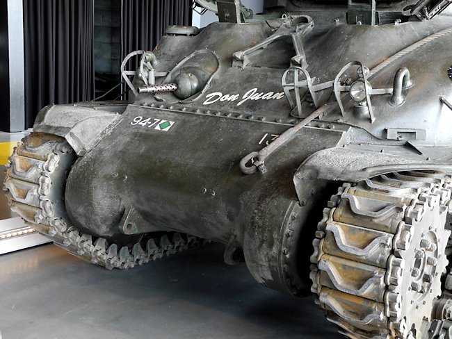 Surviving Sherman M4A1 British Medium Tank